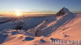 Coucher de soleil depuis le Massif du Sancy