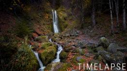 Cascade de la Perouse en Automne - Auvergne