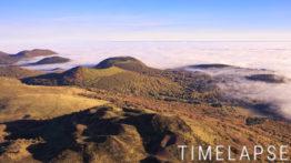 Mer de nuages sur la Chaîne des Puys