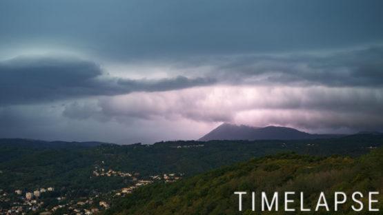 Arcus au dessus du Puy de Dôme