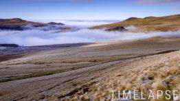 Mer de nuages au col de la Croix-Morand