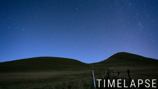 Nuit lunaire au col de la Croix Saint Robert